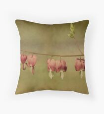 Cheating Hearts Throw Pillow