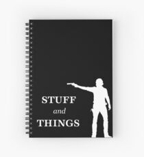 Rick Grimes - Sachen und Sachen Spiralblock