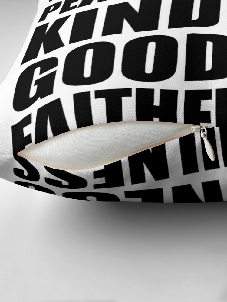 Alternative Ansicht von  The fruit of the Spirit - Gal 5:22 Dekokissen