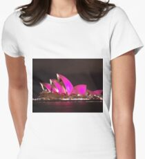 Pink House Women's Fitted T-Shirt