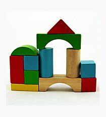 Nostalgic Toys Series - Blocks Photographic Print