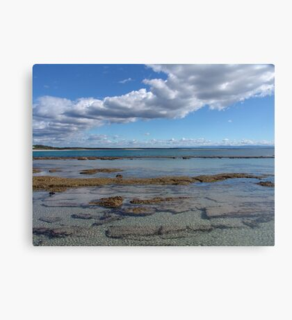 By the Bay Canvas Print