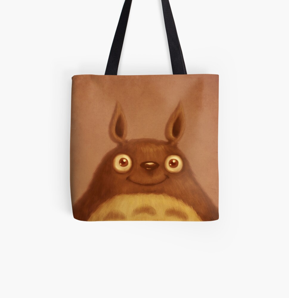 The Golden Fluffhugger All Over Print Tote Bag