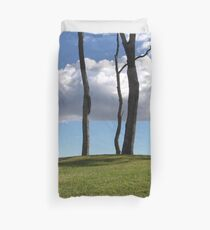 Over The Hill Duvet Cover
