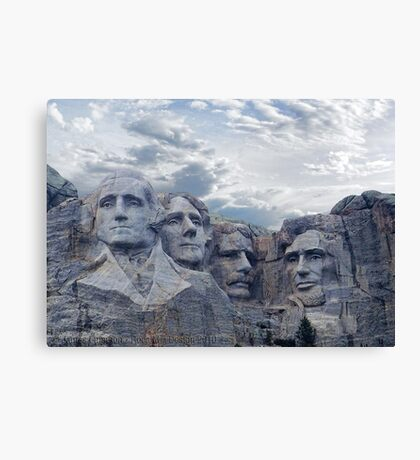 Four Presidents Canvas Print