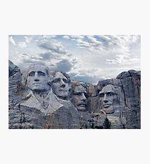 Four Presidents Photographic Print
