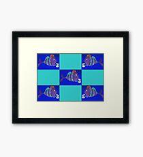 xbox gaming fish Framed Print
