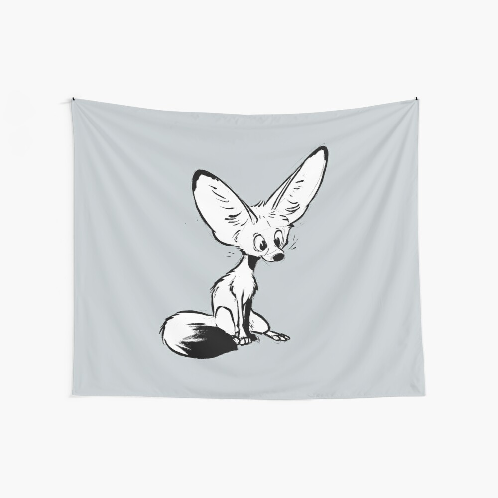 Fennec Wall Tapestry