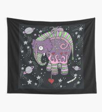 Interstellar Elephant Tee Wall Tapestry