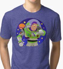 Toy Story Buzz Lightyear Space Ranger Tri-blend T-Shirt