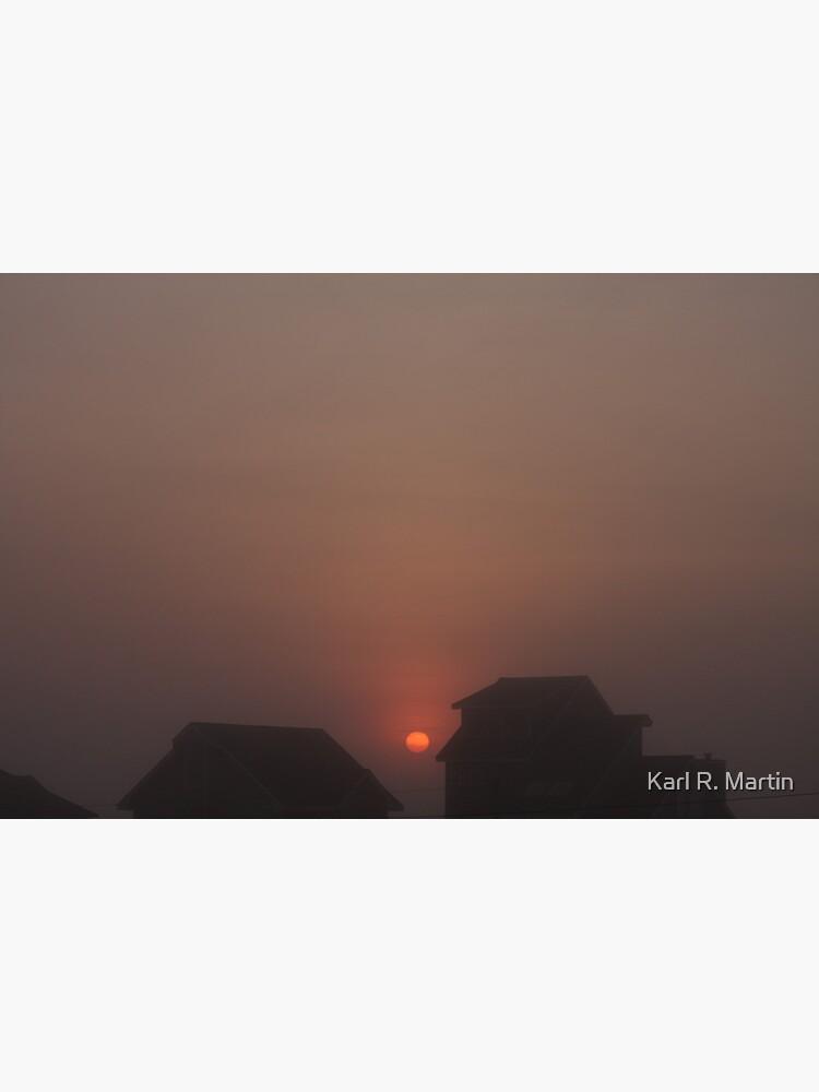 Foggy Sunrise by SirEagle
