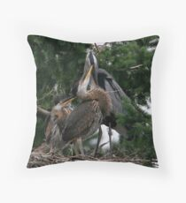 Loving Peck Throw Pillow