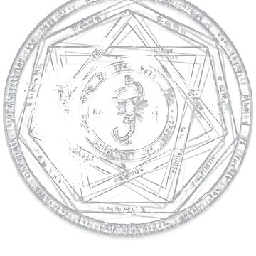 Key of Solomon Grayscale by WaisChoice