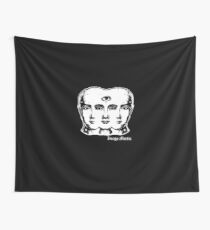 Tricephalous Wall Tapestry