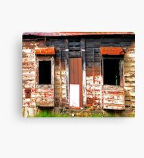 Delapidated House Canvas Print