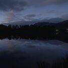 Night, Lake Rosebery by CezB
