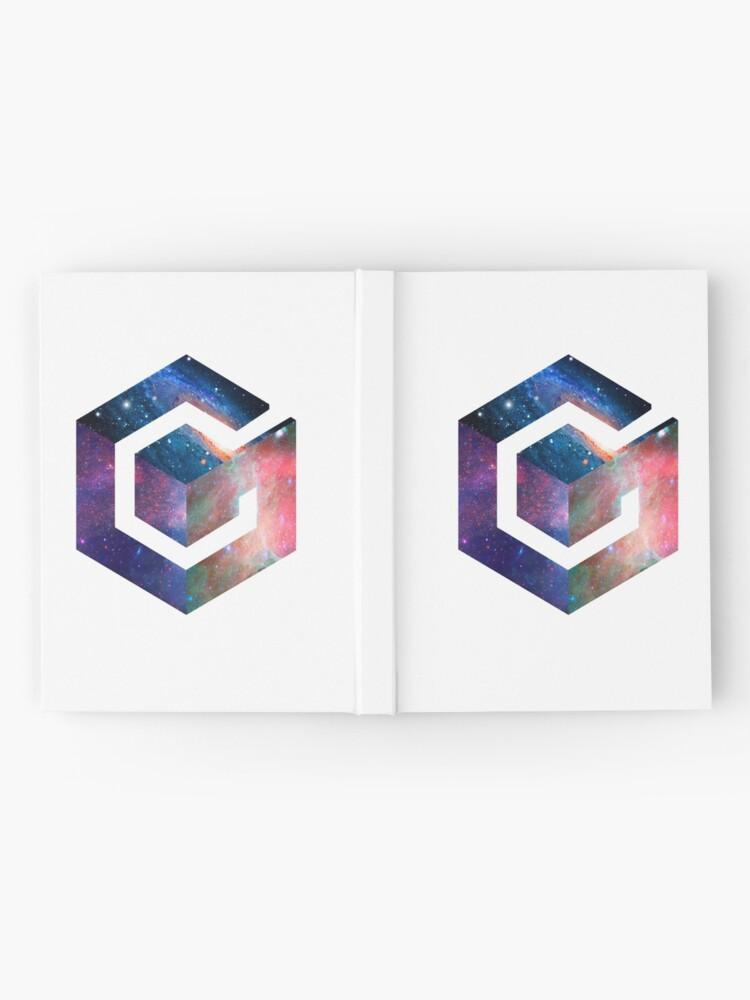 Vista alternativa de Cuaderno de tapa dura Logotipo de Galaxy GameCube