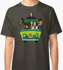 Scream-Scooby Doo Classic T-Shirt