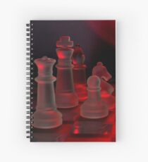 Chess Pieces Spiral Notebook