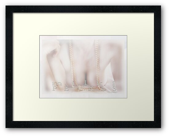 Milki Pearls © Vicki Ferrari Photography by Vicki Ferrari