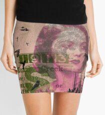 environmental  Mini Skirt