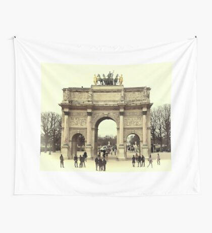 Triomphe du Carrousel Wall Tapestry