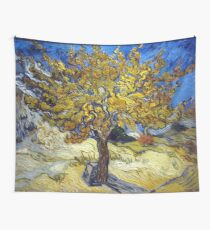 Van Gogh's Famous oil painting, The Mulberry Tree. Wandbehang
