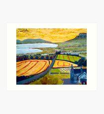 Benevenagh & Lough Foyle, Ireland Art Print