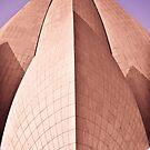 Bahai Lotus Temple by Alexander Meysztowicz-Howen