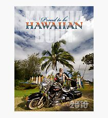 Proud to be Hawaiian Photographic Print
