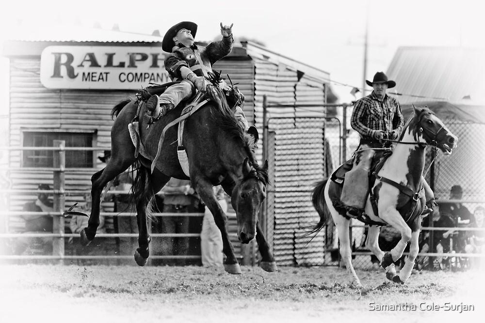 Ride 'em Cowboy by Samantha Cole-Surjan