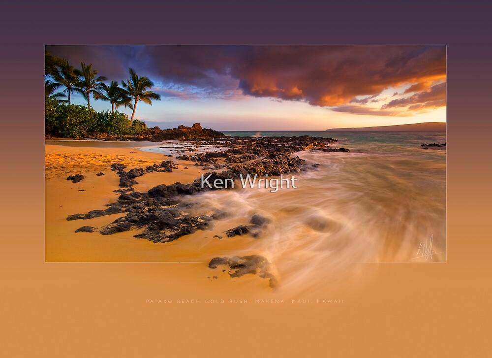 Pa'ako Beach Gold Rush by Ken Wright
