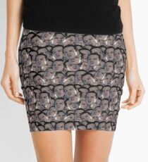 YOU CANT STOP THE MORIPARTY Mini Skirt