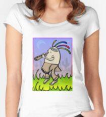 Kokopegglli Women's Fitted Scoop T-Shirt
