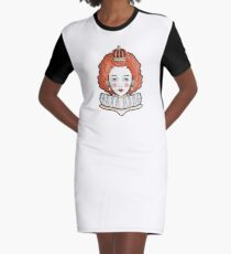 Queen II Graphic T-Shirt Dress