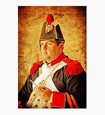 Military Portrait Photographic Print