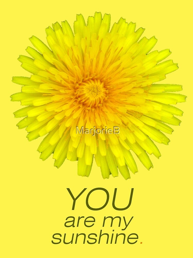 You are my sunshine by MarjorieB
