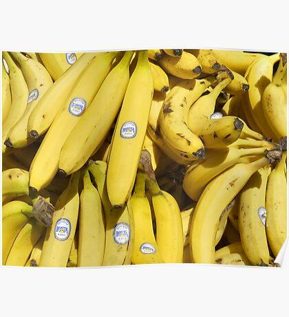 Food - bananas (Bonita #4011) Poster