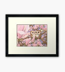 Love Owls Framed Print