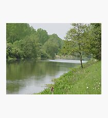 Littleport river Photographic Print