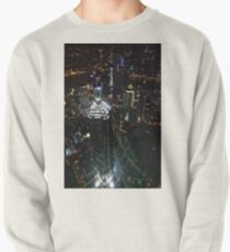 Jin Mao Tower at Night from Above - Shanghai Pullover