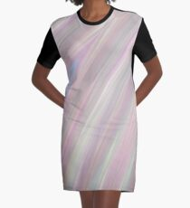 Pastelito  - Ombre Pastel Colors Abstract Art Graphic T-Shirt Dress