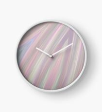 Pastelito  - Ombre Pastel Colors Abstract Art Clock