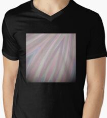 Pastelito  - Ombre Pastel Colors Abstract Art Men's V-Neck T-Shirt