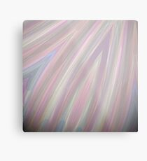 Pastelito  - Ombre Pastel Colors Abstract Art Metal Print