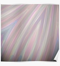 Pastelito  - Ombre Pastel Colors Abstract Art Poster