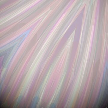 Pastelito  - Ombre Pastel Colors Abstract Art by OneDayArt