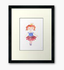 Ginger Princess Framed Print
