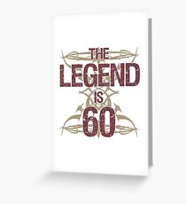 Men's Funny 60th Birthday Greeting Card