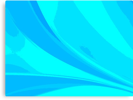 Abstract blue composition by Laschon Robert Paul